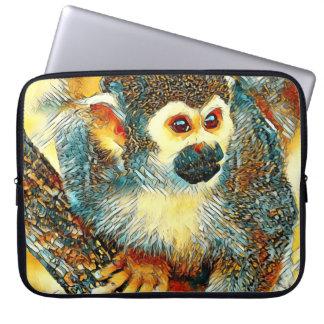 AnimalArt_Monkey_20170601_by_JAMColors Laptop Sleeve