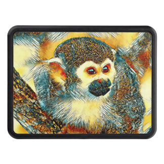 AnimalArt_Monkey_20170601_by_JAMColors Trailer Hitch Cover