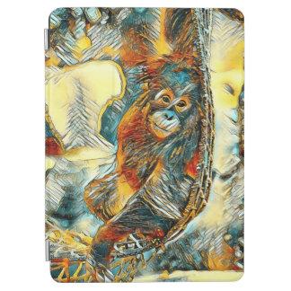 AnimalArt_OrangUtan_20170605_by_JAMColors iPad Air Cover