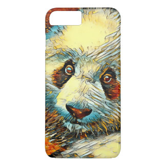 AnimalArt_Panda_20170601_by_JAMColors iPhone 7 Plus Case