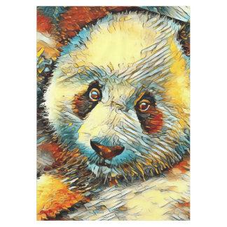 AnimalArt_Panda_20170601_by_JAMColors Tablecloth