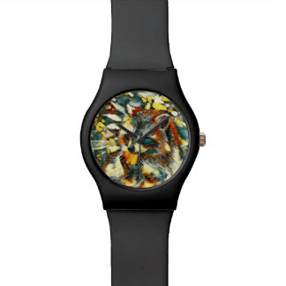 AnimalArt_Raccoon_20170601_by_JAMColors Wrist Watch