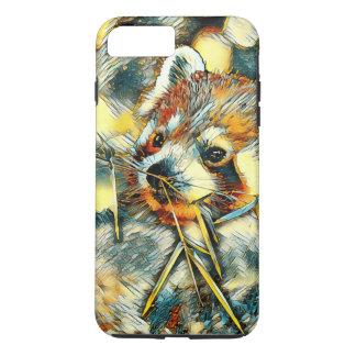 AnimalArt_RedPanda_20170702_by_JAMColors iPhone 8 Plus/7 Plus Case