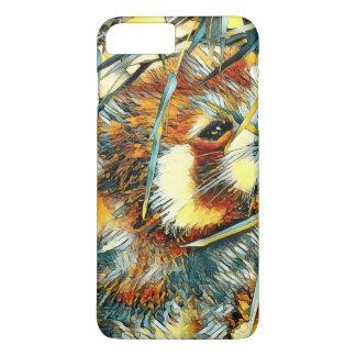 AnimalArt_RedPanda_20170706_by_JAMColors iPhone 8 Plus/7 Plus Case