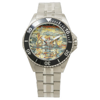 AnimalArt_Tiger_20170601_by_JAMColors Wrist Watch