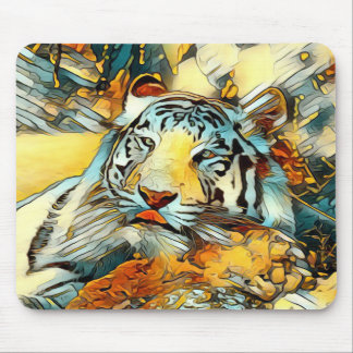 AnimalArt_Tiger_20170603_by_JAMColors Mouse Pad