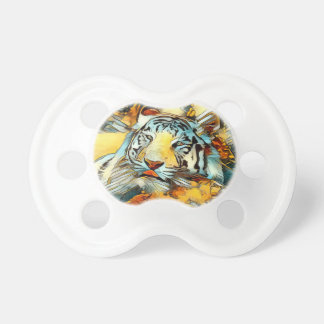 AnimalArt_Tiger_20170603_by_JAMColors Pacifier