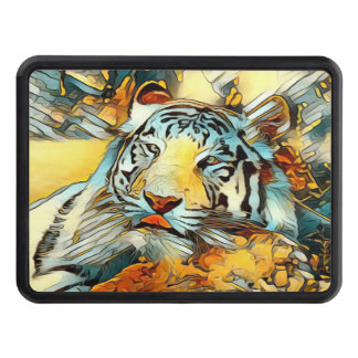 AnimalArt_Tiger_20170603_by_JAMColors Trailer Hitch Cover