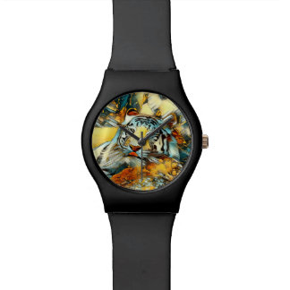 AnimalArt_Tiger_20170603_by_JAMColors Wrist Watches