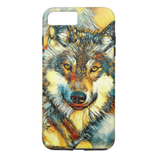 AnimalArt_Wolf_20170601_by_JAMColors iPhone 8 Plus/7 Plus Case