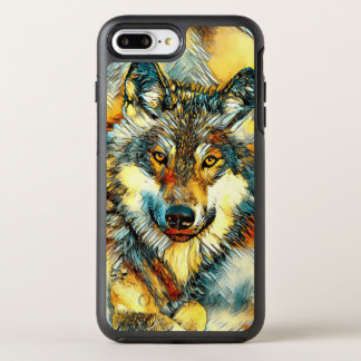 AnimalArt_Wolf_20170601_by_JAMColors OtterBox Symmetry iPhone 8 Plus/7 Plus Case