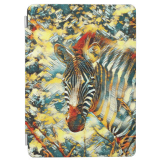 AnimalArt_Zebra_20170703_by_JAMColors iPad Air Cover