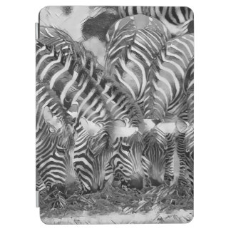AnimalArtBW_Zebra_20170602_by_JAMColors iPad Air Cover