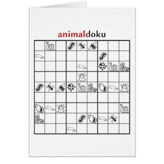 animaldoku little card