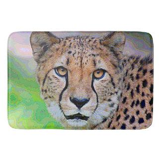 AnimalPaint_Cheetah_20171201_by_JAMColors Bath Mat