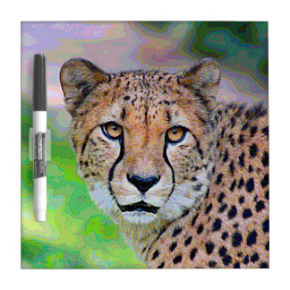 AnimalPaint_Cheetah_20171201_by_JAMColors Dry Erase Board