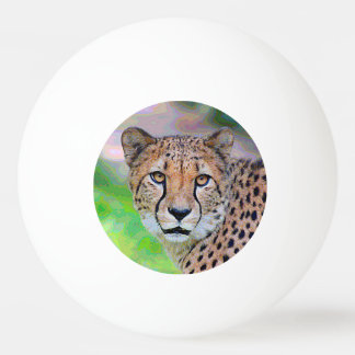 AnimalPaint_Cheetah_20171201_by_JAMColors Ping Pong Ball