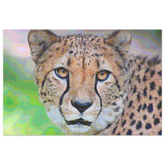 AnimalPaint_Cheetah_20171201_by_JAMColors Tissue Paper