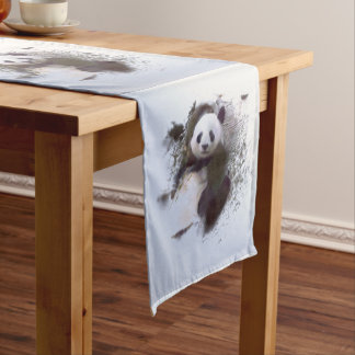 Animals and Art Medium Table Runner