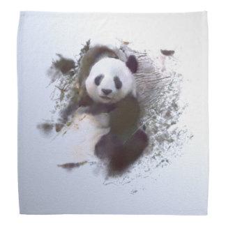 animals and art - panda bandana