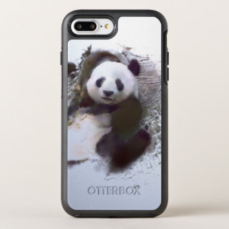 animals and art - panda OtterBox symmetry iPhone 8 plus/7 plus case