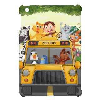 Animals and bus iPad mini cases