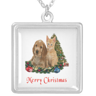 Animals Christmas gifts Silver Plated Necklace