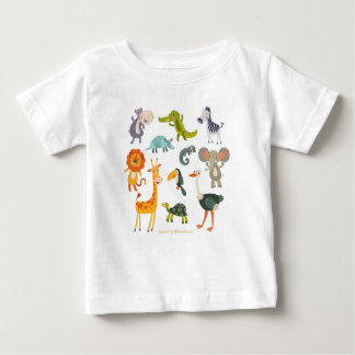 Animals design baby T-Shirt