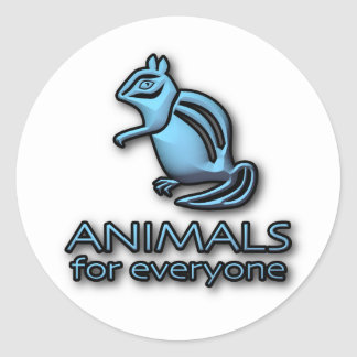 Animals for everyone - Logo Sticker
