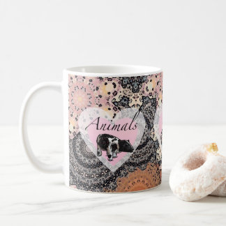 Animals have hearts coffee mug