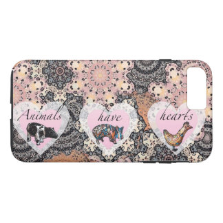 Animals have hearts iPhone 8 plus/7 plus case