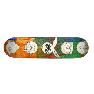 Animals II Skate Board Deck