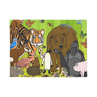 Animals Menagerie Doormat