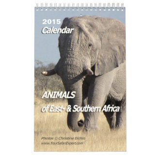 ANIMALS of Africa Calendar 2015 1-Pg.