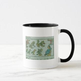 Animals of the Aztec Emperor Mug