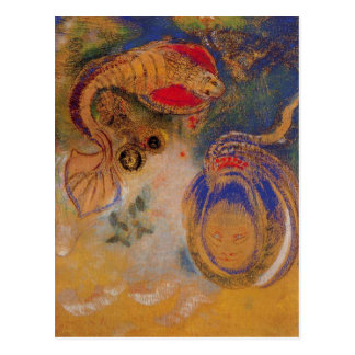 Animals of the Bottom of the Sea by Odilon Redon Postcard