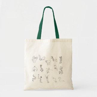 Animals on bag