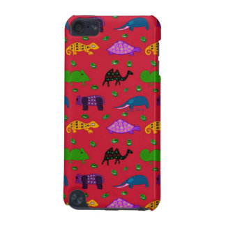 Animals - Purple Turtles & Blue Elephants iPod Touch 5G Covers