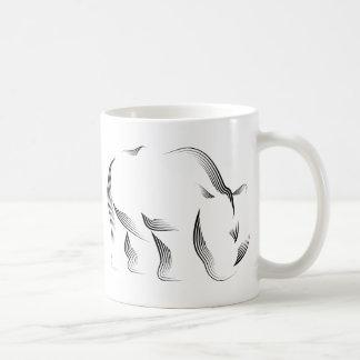 Animals - Rhino Coffee Mug