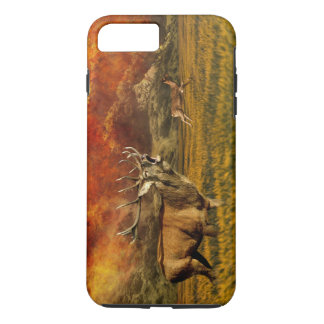 Animals Running away from Fire Illustration iPhone 7 Plus Case