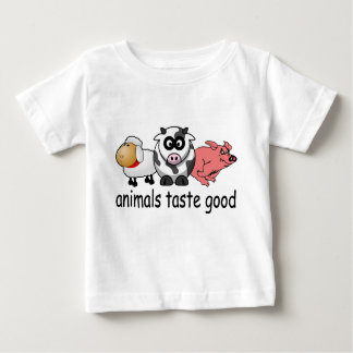 Animals Taste Good - Funny Meat Eaters Design Tshirts