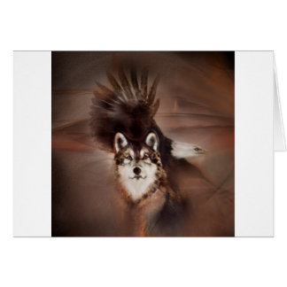 animals,wildlife nature, gifts,wolf eagle card