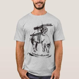 animals will revenge T-Shirt
