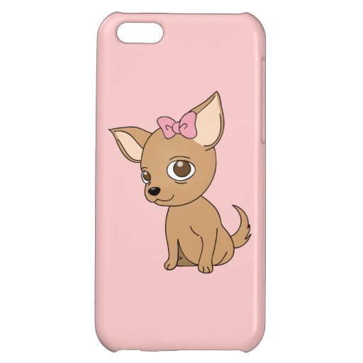 Animated Chihuahua iPhone 5C Cover