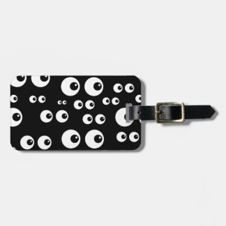 Animated Eye Balls Bag Tag