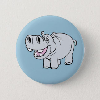 Animated Hippo Button