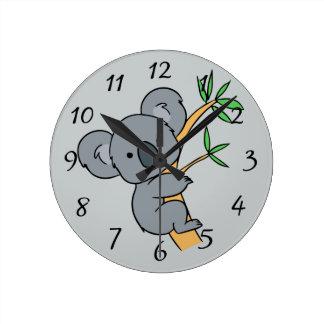 Animated Koala Bear Wallclocks