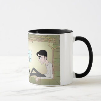 "Animated ""Night Will End"" Mug"