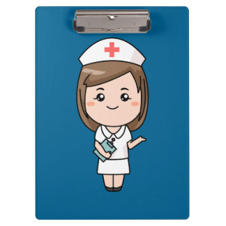 Animated Nurse background Clipboards