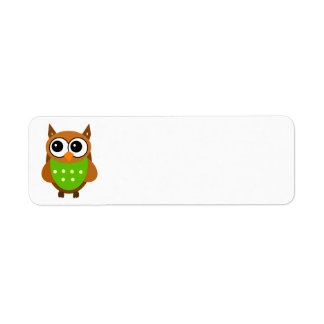 Animated Owl Labels